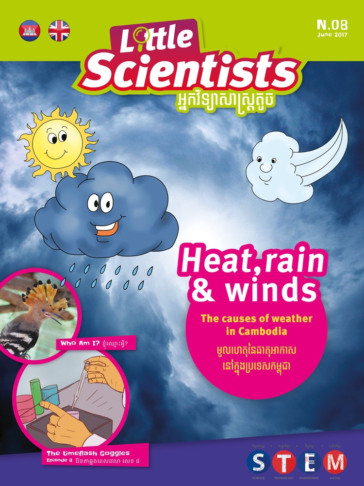 Nº 08 – Heat, rain and winds